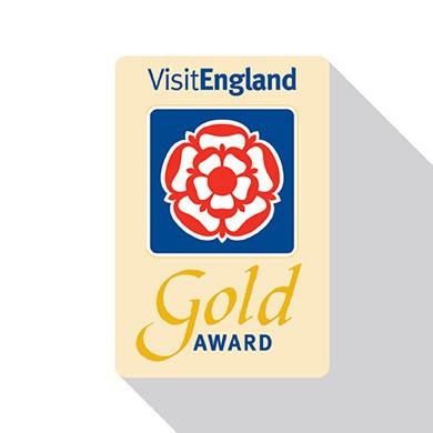 Visit England Gold Award Logo