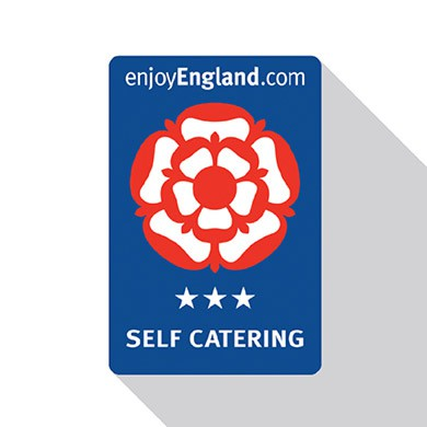 Visit England Three Star Self Catering Logo